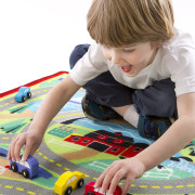 Round the Town Road Rug & Car Set-2