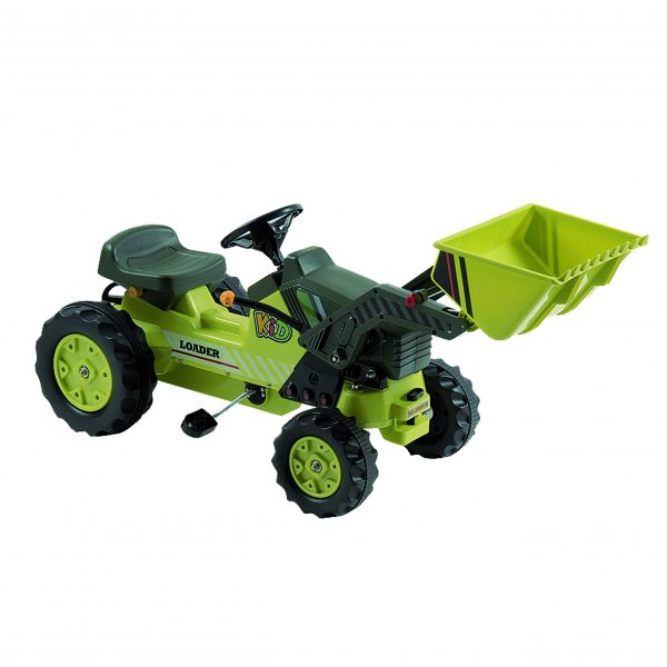 DX-50001B Pedal Tractor with Loader (Green)