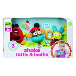 ALEX Toys ALEX Jr. Shake, Rattle & Teethe baby toys