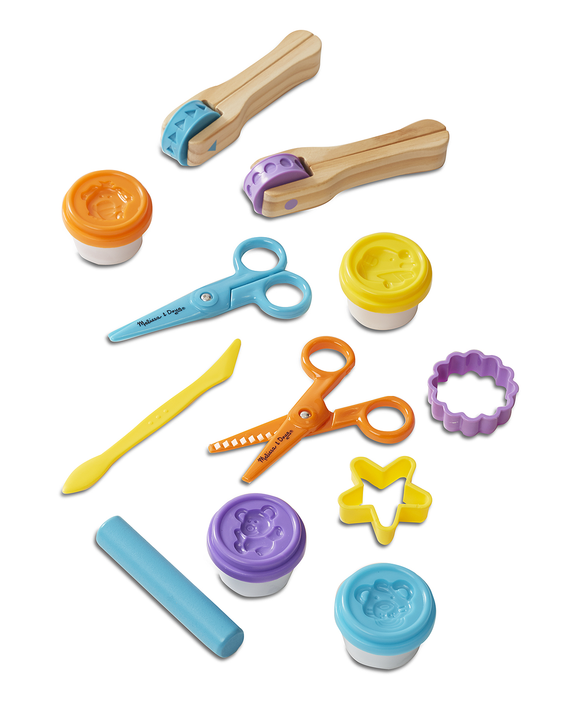 Toys For 5 : Cut sculpt roll clay play set