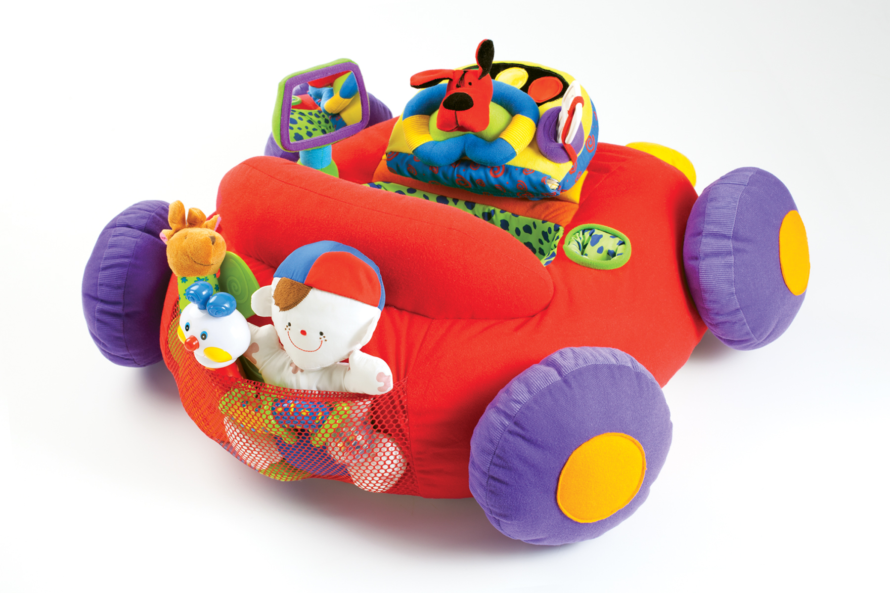 Beep Beep Amp Play Activity Toy