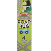 Round the Town Road Rug & Car Set-4