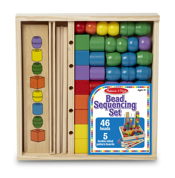 Bead Sequencing Set Classic Toy - Ygrowup Toys