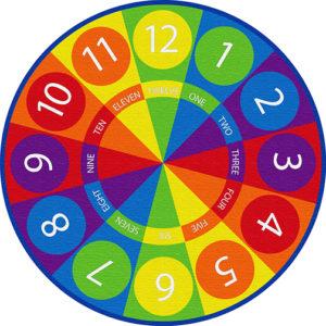 Tick Tock 6' Round 12-15