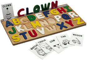 I Can Spell! Alphabet Puzzle- educational toys