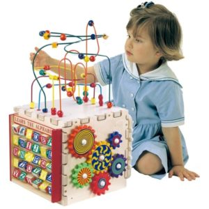 Deluxe Mini Play Cube- educational toys