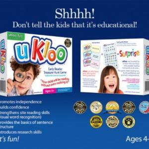 uKloo Early Reader Treasure Hunt Game- Award Winning Toys