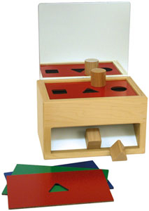 Shape Sorter with Mirror- Award Winning Toys
