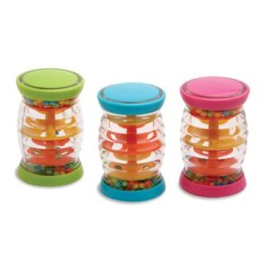 Tube Shakers Display baby toys