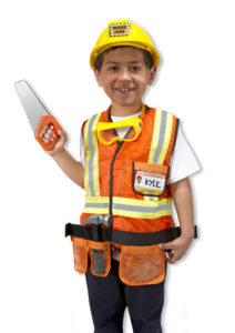 ConstructionWorkerCostume kid's educational toys