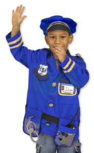 PoliceCostume kid's educational toys