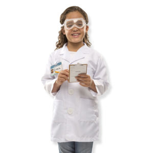 ScientistCostume kid's educational toys