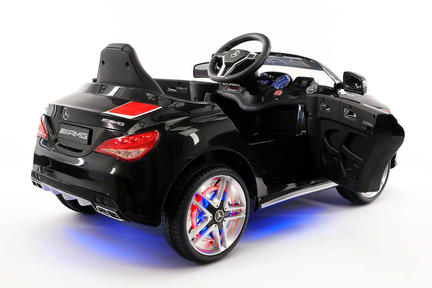 Mercedes CLA45 Sport 12V Kids Ride On Car With R/C Parental Remo Te Black  Shipping Is Included