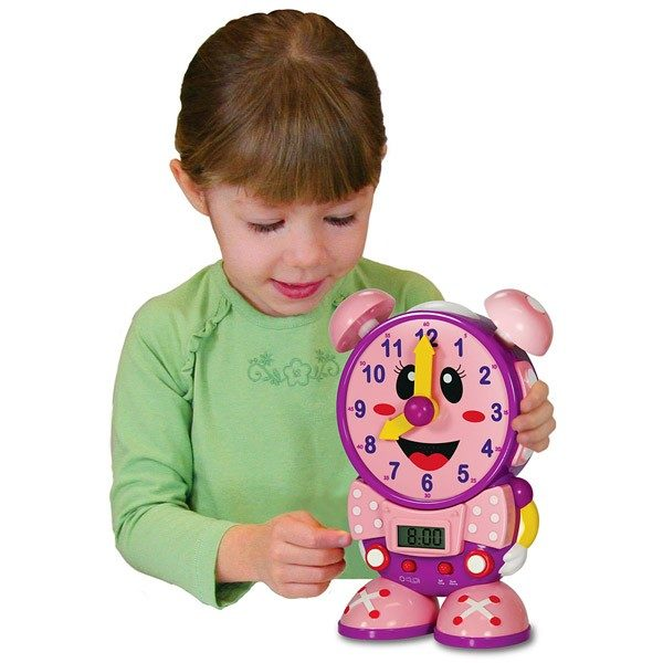 Telly The Teaching Time Clock (Pink Color)